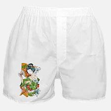 Japanese Geisha - bananaharvest Boxer Shorts
