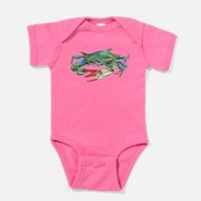 Blue Crab Baby Bodysuit