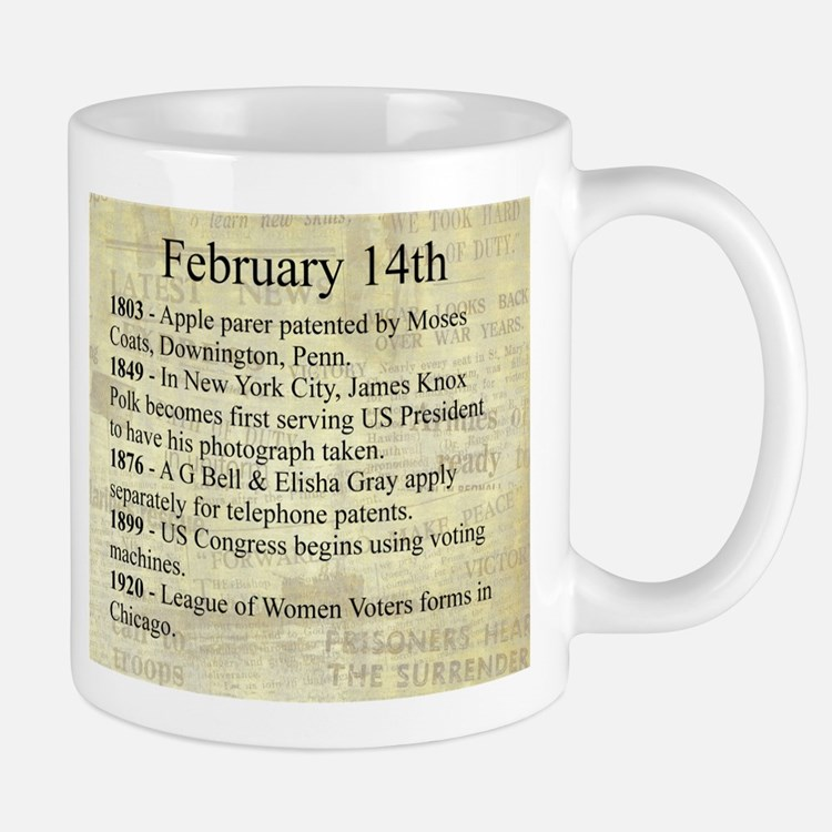 February 14th Mugs