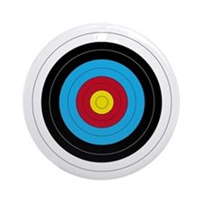 Archery Target Ornament (Round) Ornament (Round)