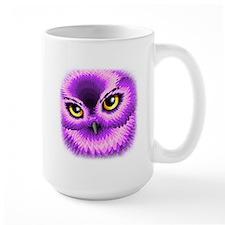 Pink Owl Eyes Mugs