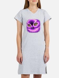 Pink Owl Eyes Women's Nightshirt