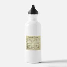 February 12th Water Bottle