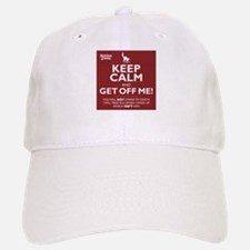 Keep Calm - red Baseball Baseball Baseball Cap