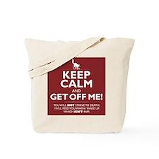 Keep Calm - red Tote Bag