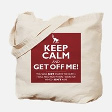 Keep Calm - red Tote Bag