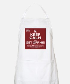 Keep Calm - red Apron