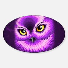 Pink Owl Eyes Decal