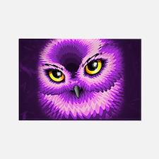 Pink Owl Eyes Magnets