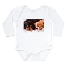 Sleeping Buddies Long Sleeve Infant Bodysuit