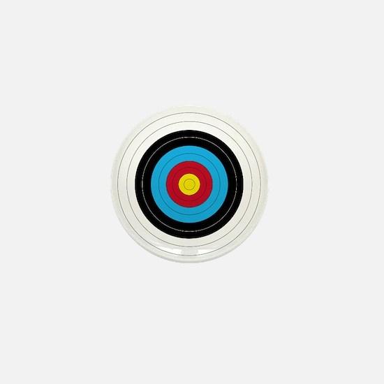 Archery Target Mini Button