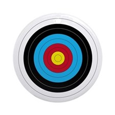 Archery Target Ornament (Round) Ornament (Round)