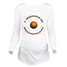 Bracketology Long Sleeve Maternity T-Shirt