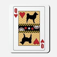 Queen Elkhound Mousepad