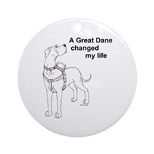 N GD Change Ornament (Round)