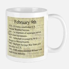 February 9th Mugs