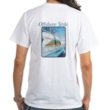Offshore Style White Shirt
