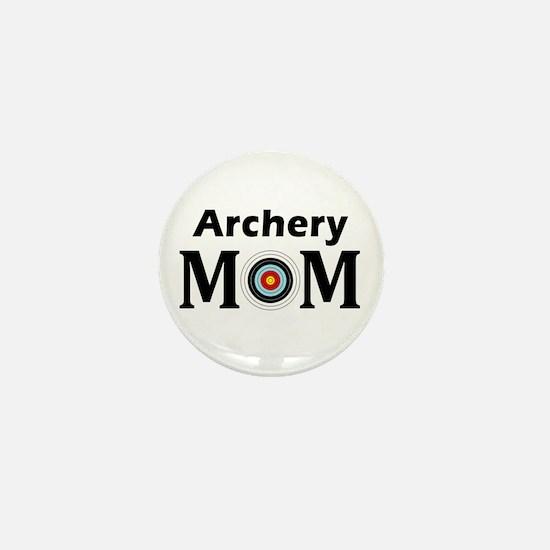Archery Mom Mini Button