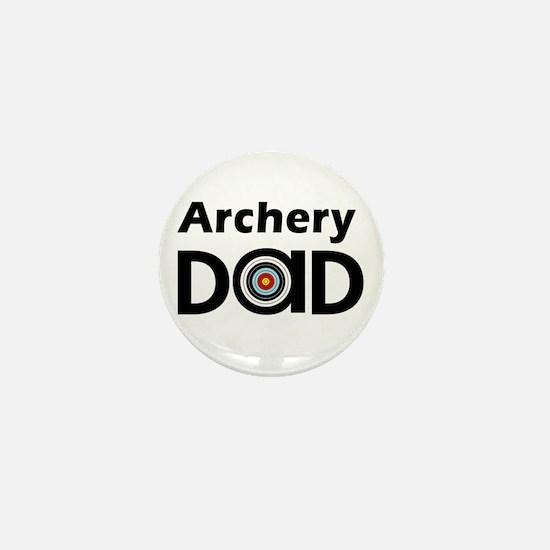 Archery Dad Mini Button