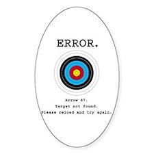 Error - Target Not Found Decal