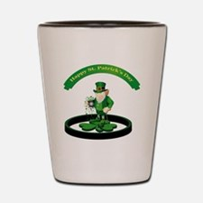 Saint Patrick's Day Shot Glass