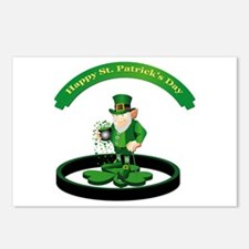 Saint Patrick's Day Postcards (Package of 8)