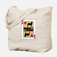 Queen Buhund Tote Bag