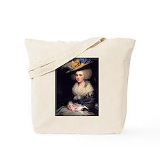 18th Century Portrait of Abigail Adams Tote Bag