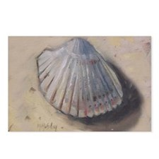 Seashell Cockle Shell Beach Postcards (Package of