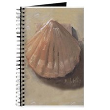 Scallop Shell Beach Seashell Journal