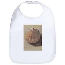 Scallop Shell Beach Seashell Bib
