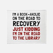 Bookaholic Throw Blanket