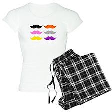 Six Mustaches Moustaches Pajamas