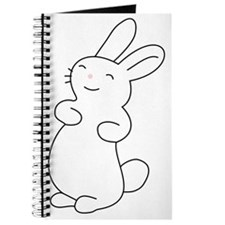 Cute Smiling Bunny  Journal