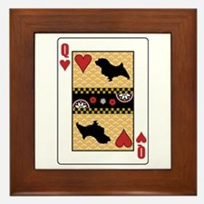 Queen Norfolk Framed Tile
