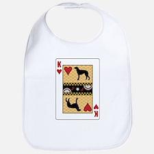 King Deerhound Bib