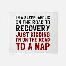 Sleepaholic Throw Blanket