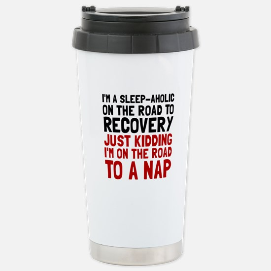 Sleepaholic Travel Mug