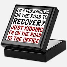Workaholic Keepsake Box