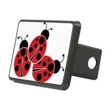 Trio of Ladybugs Hitch Cover