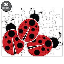Trio of Ladybugs Puzzle