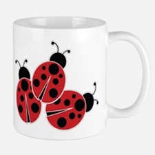 Trio of Ladybugs Mugs