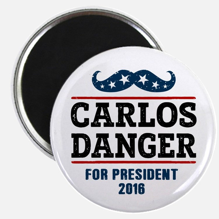 "Carlos Danger For President 2.25"" Magnet (10 pack)"