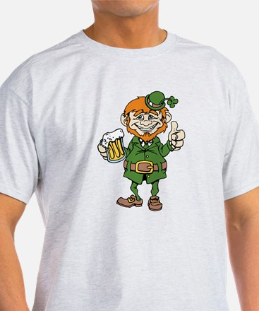 St Patricks Day leprechaun T-Shirt