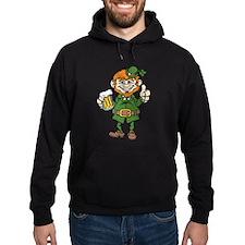 St Patricks Day leprechaun Hoodie