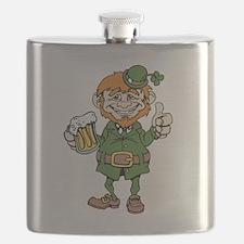 St Patricks Day leprechaun Flask