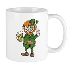 St Patricks Day leprechaun Mugs