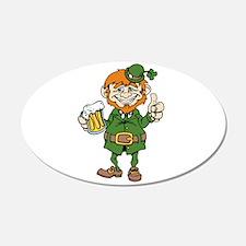 St Patricks Day leprechaun Wall Decal