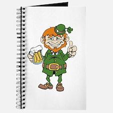 St Patricks Day leprechaun Journal