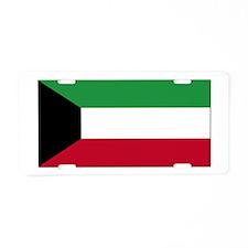 Flag of Kuwait Aluminum License Plate